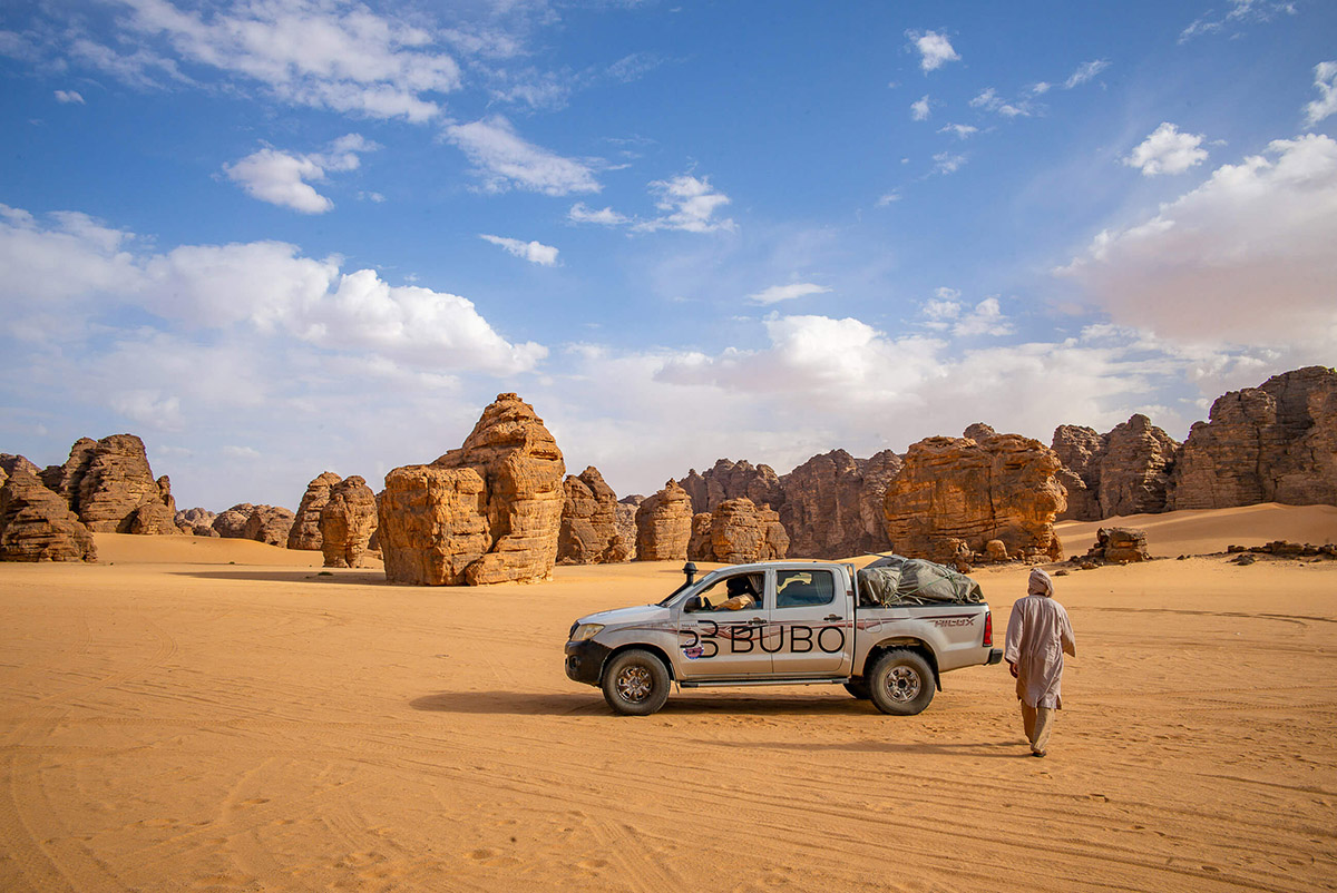 Sahara, Alžírsko. Foto: Bubo