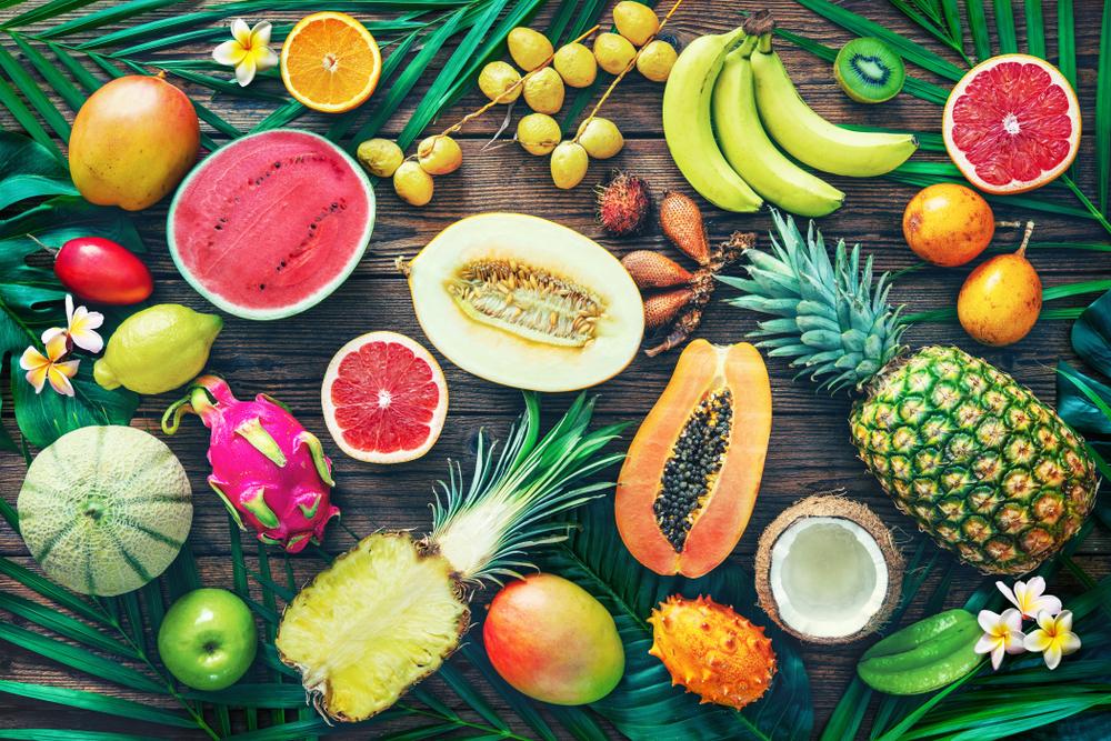 Exotické ovocie. Foto: Shutterstock