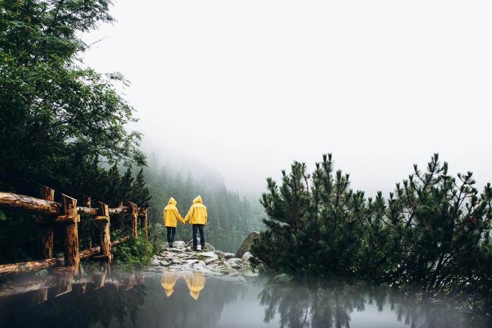 Dážď Vysoké Tatry. Foto: Shutterstock