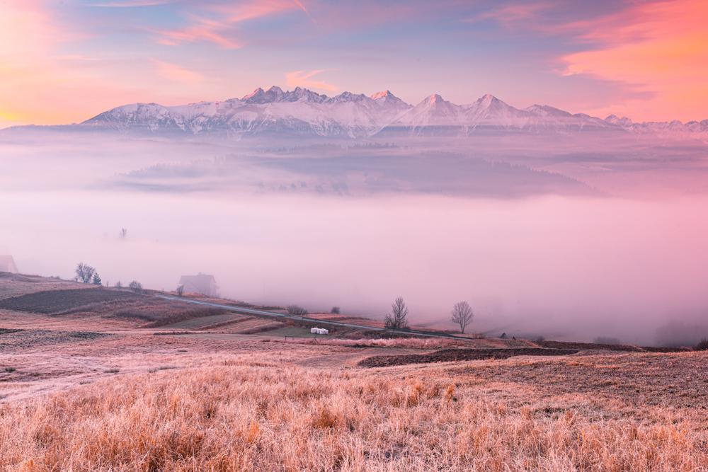 Panoráma Vysokých Tatier. Foto: Shutterstock.