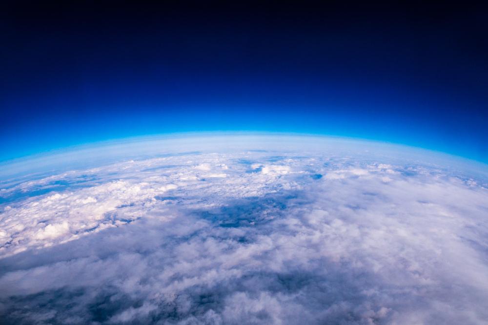 Kyslík - atmosféra. Foto: Shutterstock