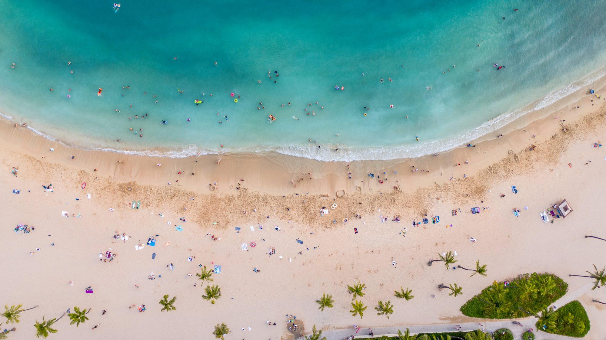 Pláž Waikiki v hlavnom meste Havaja Honolulu. Foto: Shutterstock