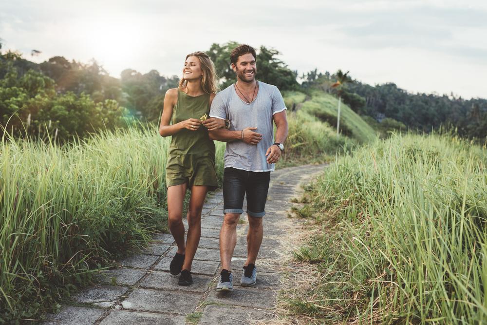 Kreativita pri chôdzi stúpa až o 60 %. Foto: Shutterstock