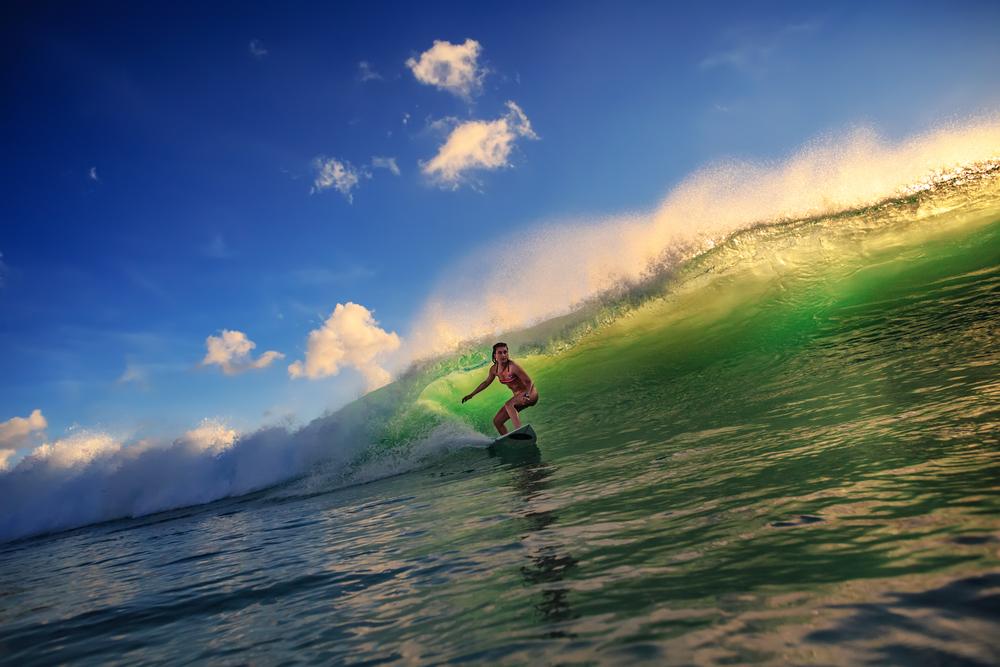 Surfovanie na Havaji. Foto: Shutterstock
