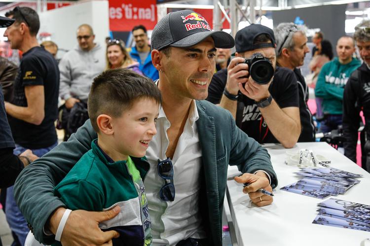 Marco Fontana pri autogramiáde