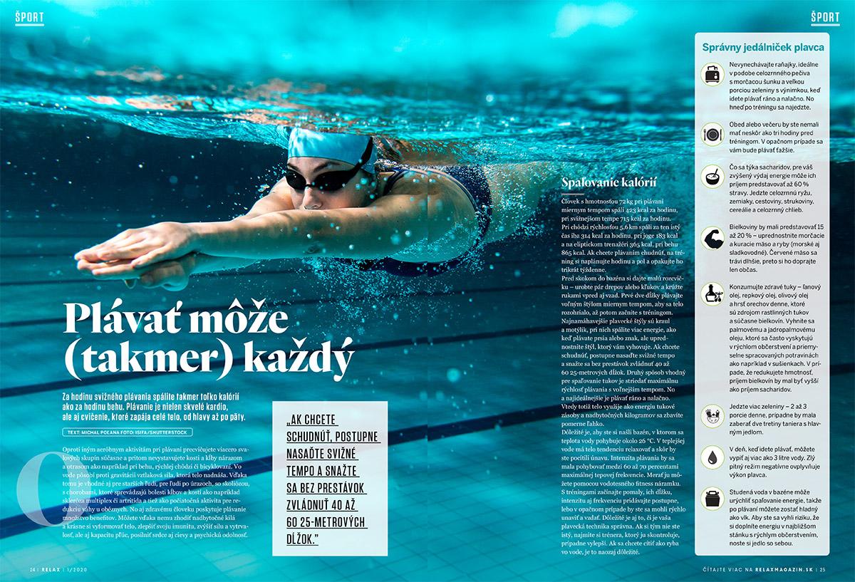 Relax 1/2020 - plávanie
