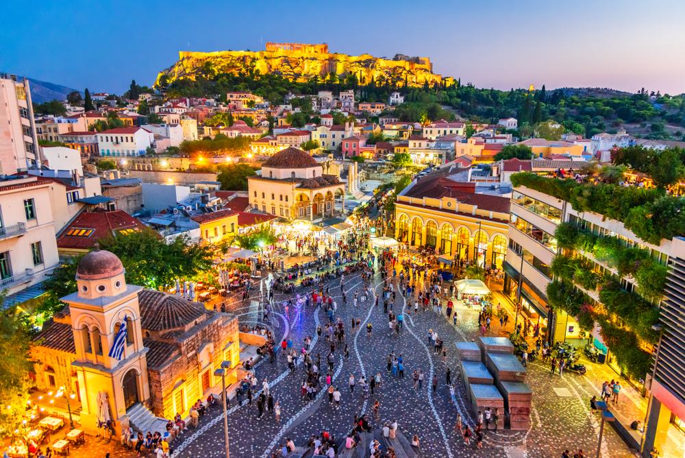 Atény. Foto: Shutterstock
