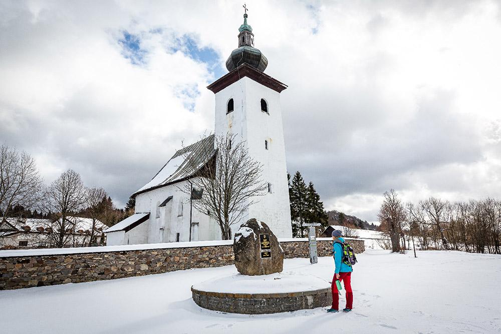 Stred Európy leží neďaleko Kremnice. Foto: Miro Pochyba