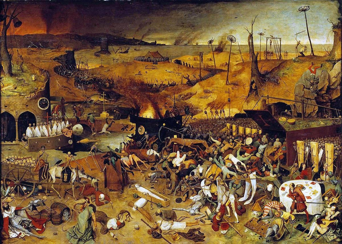 Ľudia zomierali náhle, len niekoľko dní od nakazenia. V čase najsilnejšej nákazy zomieralo v Bordeaux 600 ľudí denne.