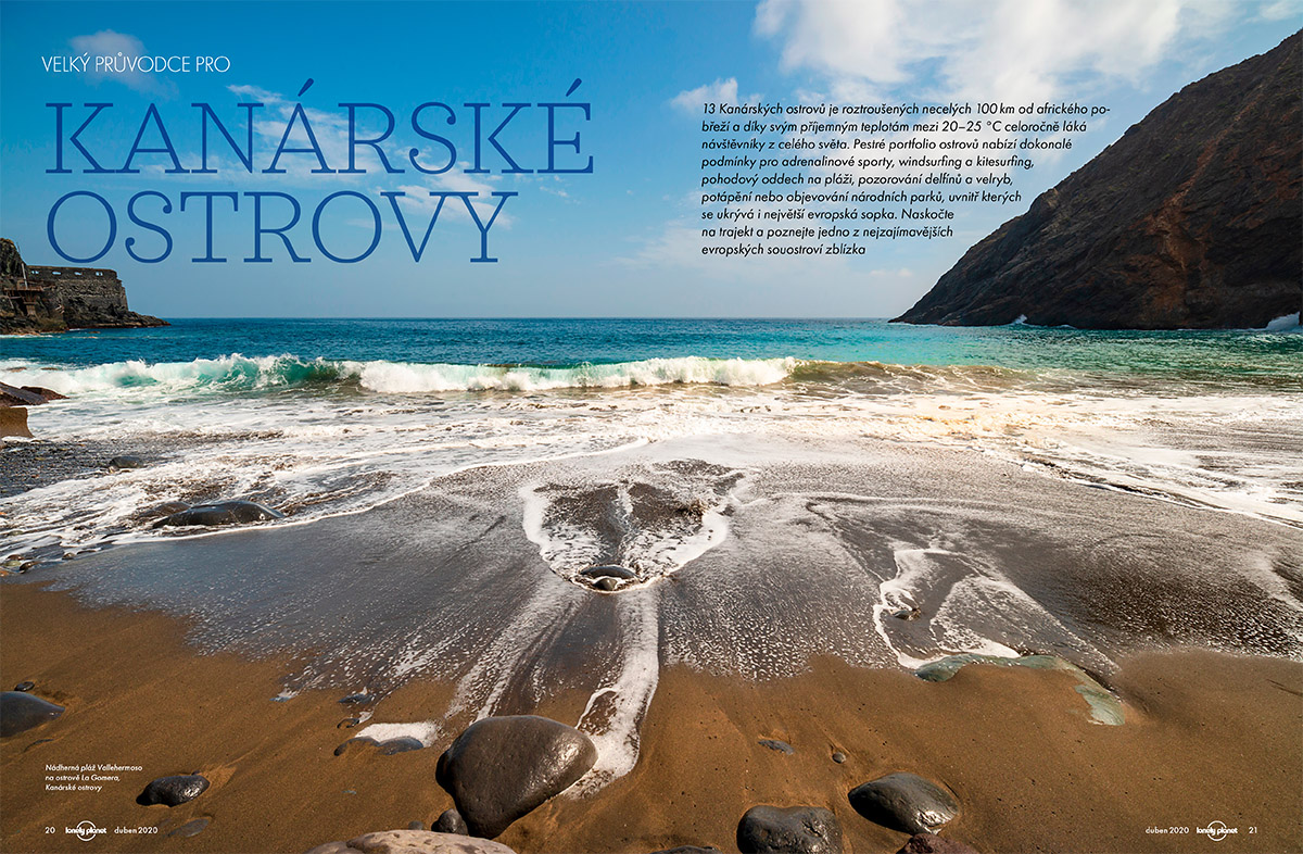 Kanárske ostrovy. Lonely Planet 2/2020