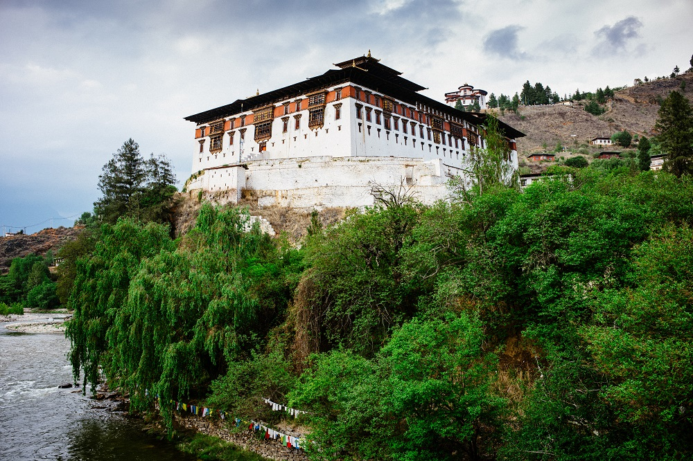 Paro dzong patrí medzi najkrajšie pevnosti vBhutáne. Foto: Róber Tarabat