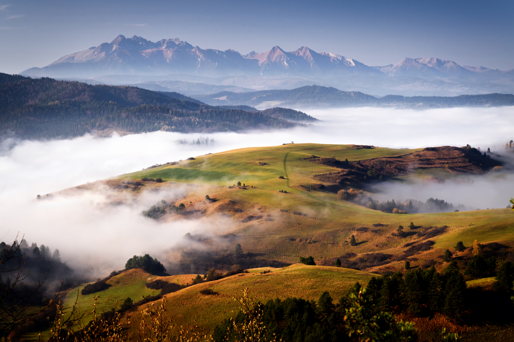 Pieniny, východné Slovensko. Foto: Shutterstock