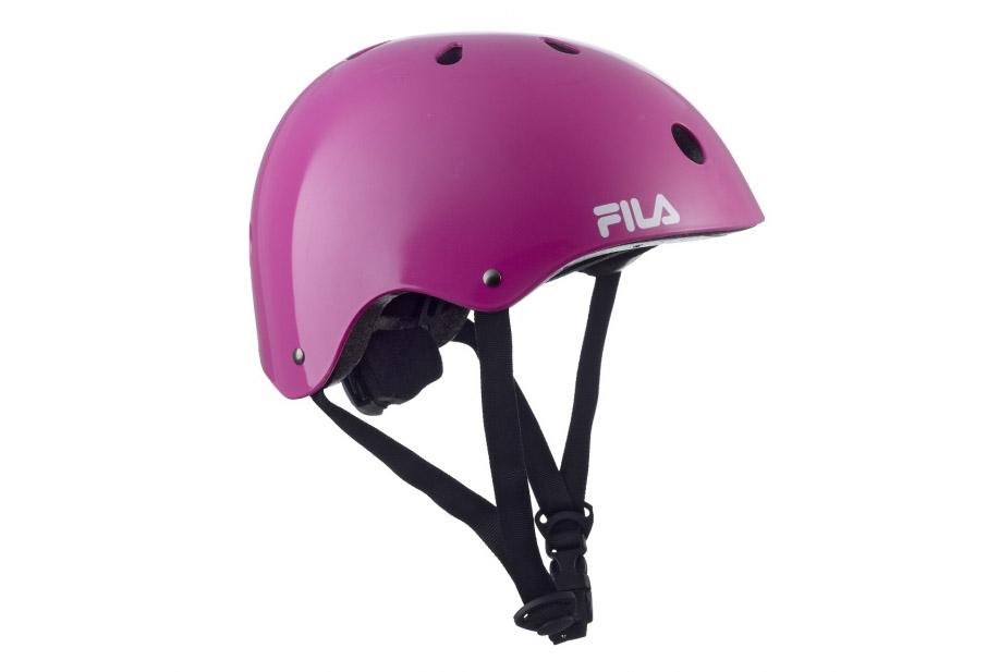 Dámska prilba na korčuľovanie Fila skates fun helmet Magenta