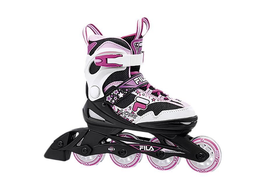 Detské kolieskové korčule Fila skates J-ONE G Magenta