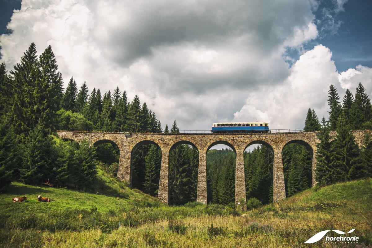 Chmarošský viadukt. Foto: Horehronie