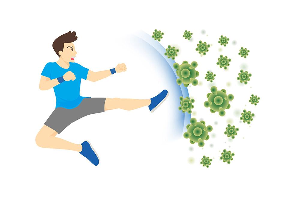 Šport podporuje našu imunitu rôznymi spôsobmi. Foto: Shutterstock