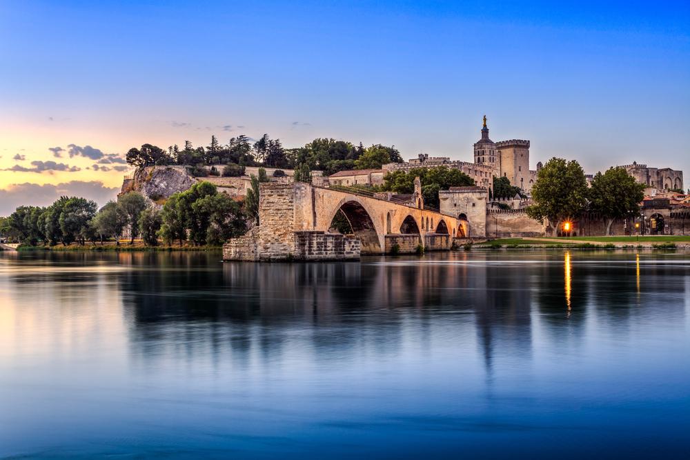 Avignonský most v Avignone. EuroVelo 17. Foto: Shutterstock