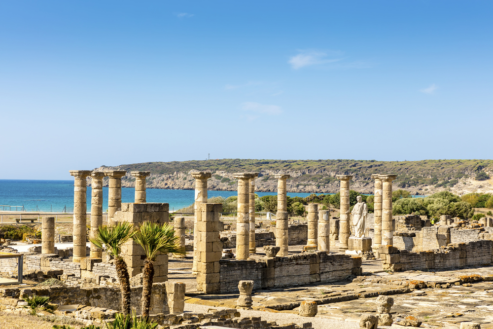 Staroveké rímske mesto Baelo Claudia v južnom Španielsku. EuroVelo 8. Foto: Shuttestock