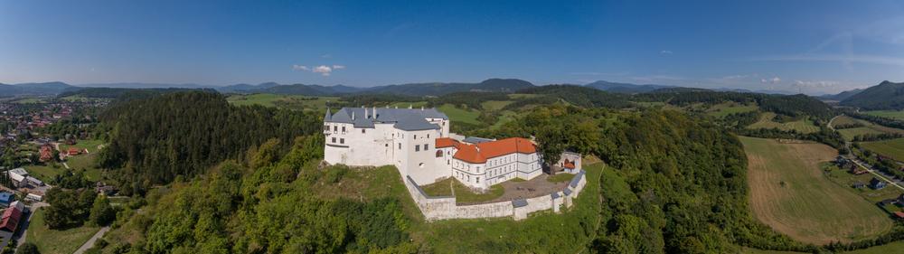 Ľupčiansky hrad. Foto. Shutterstock