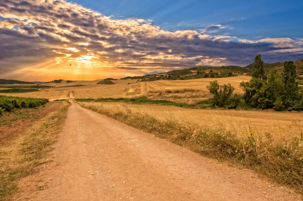 Pútnická trasa Camino Francés cez Španielsko. EuroVelo 3. Foto: Shutterstock