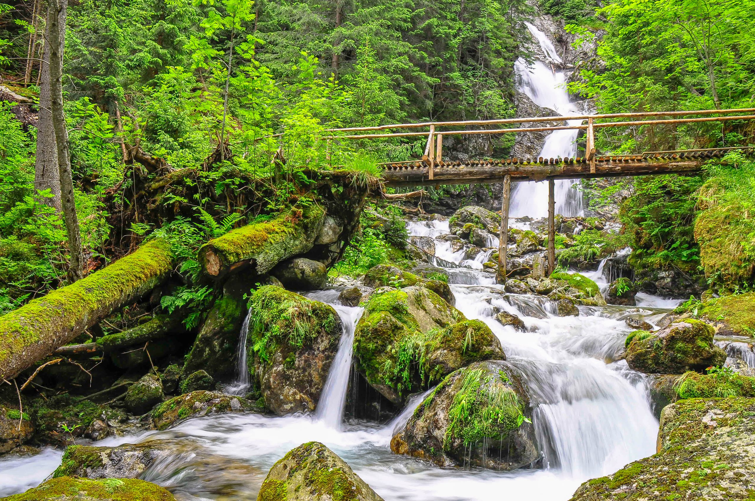 Vodopád Kmeťov. Foto: Shutterstock