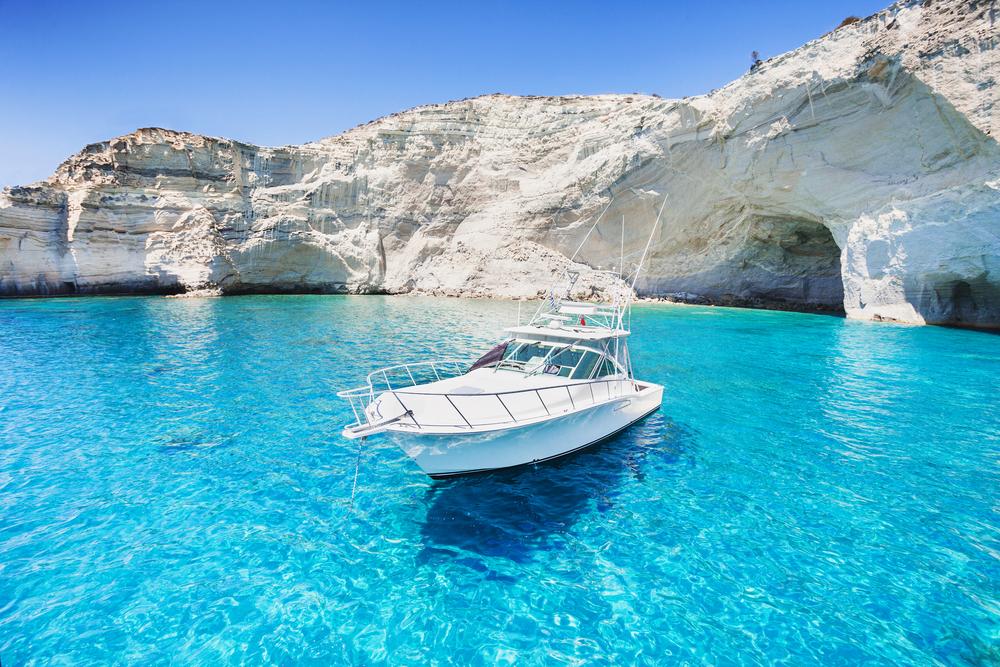 Grécky ostrov Milos. Foto: Shutterstock