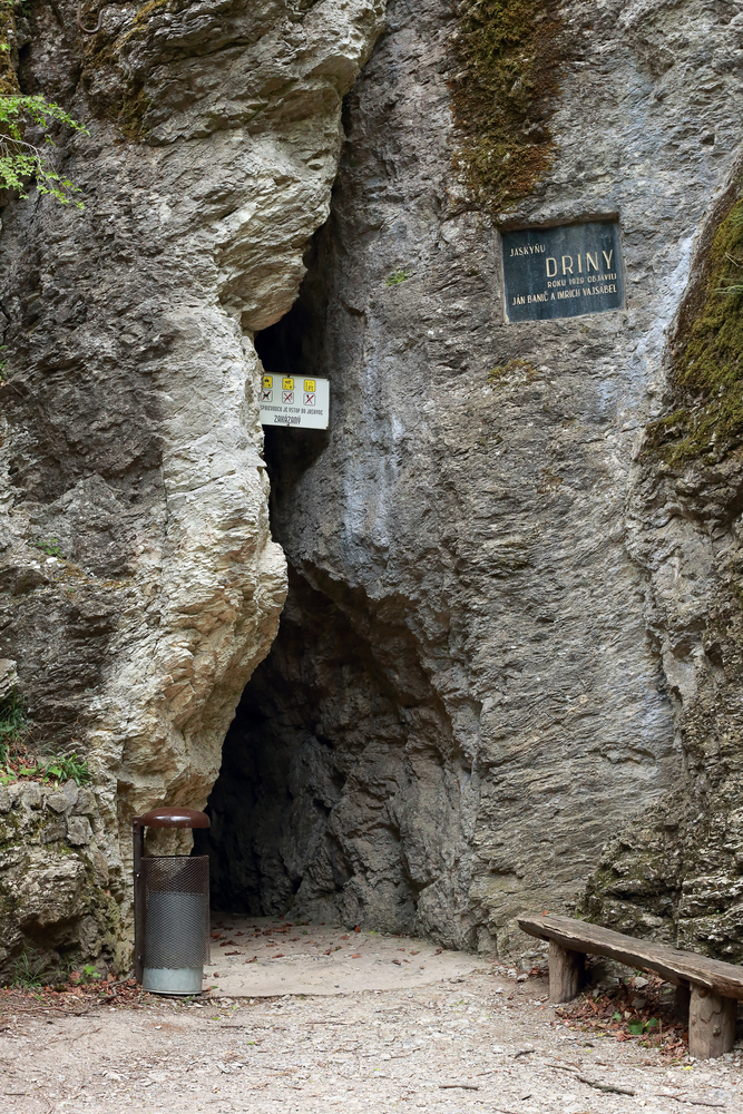 Jaskyňa Driny, Malé Karpaty. Foto: Shutterstock