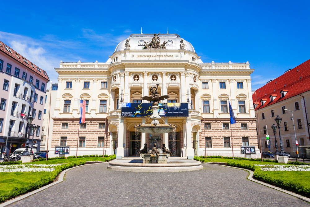 Divadlo SND, Bratislava. Foto: Shutterstock