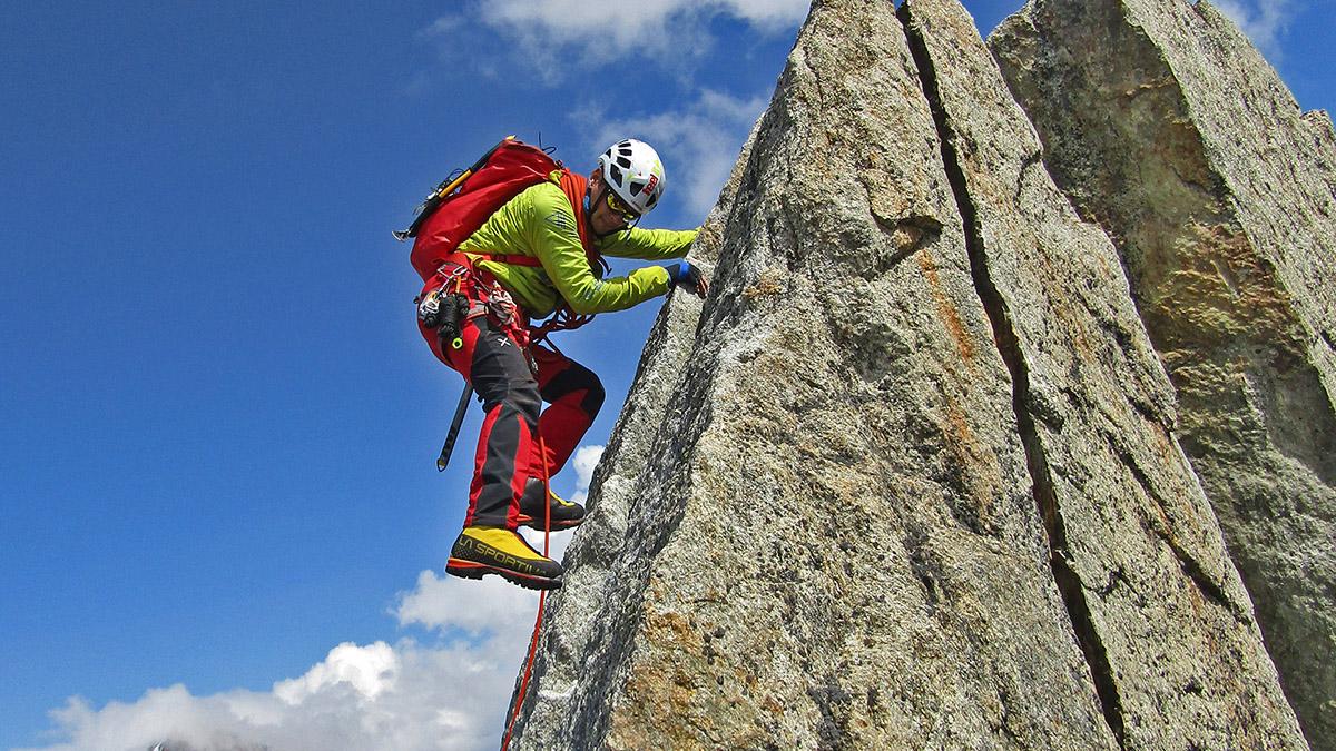 Výstup na Petit Verde v oblasti Mont Blanc