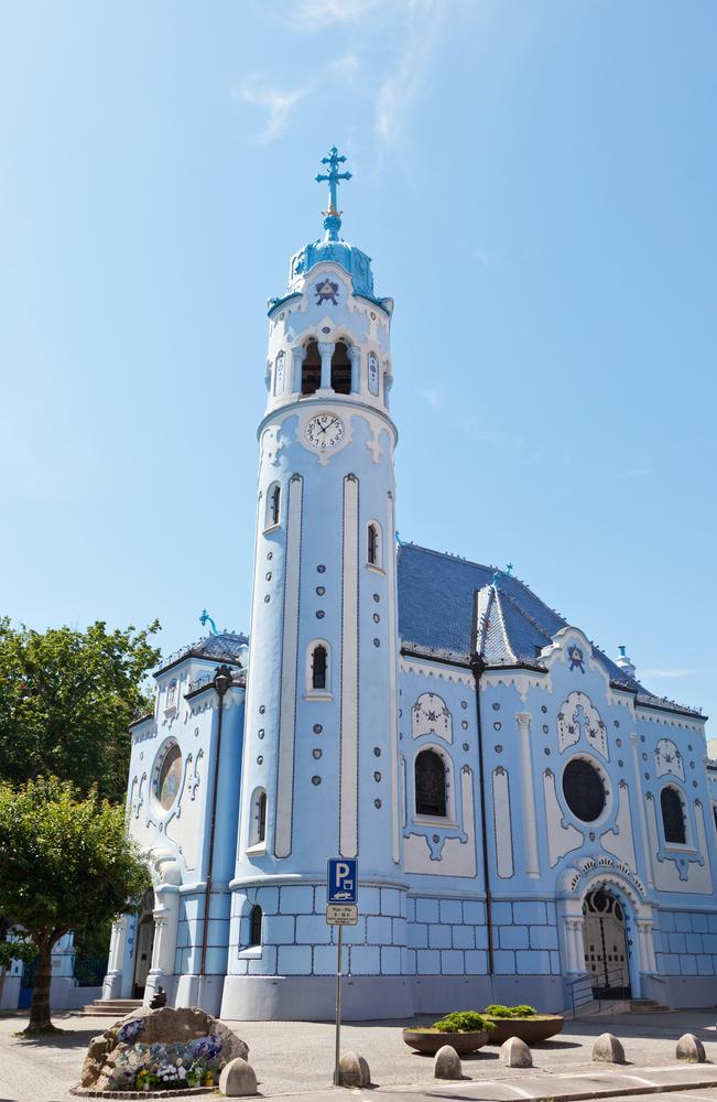 Bratislava, Modrý kostolík. Foto: Shutterstock