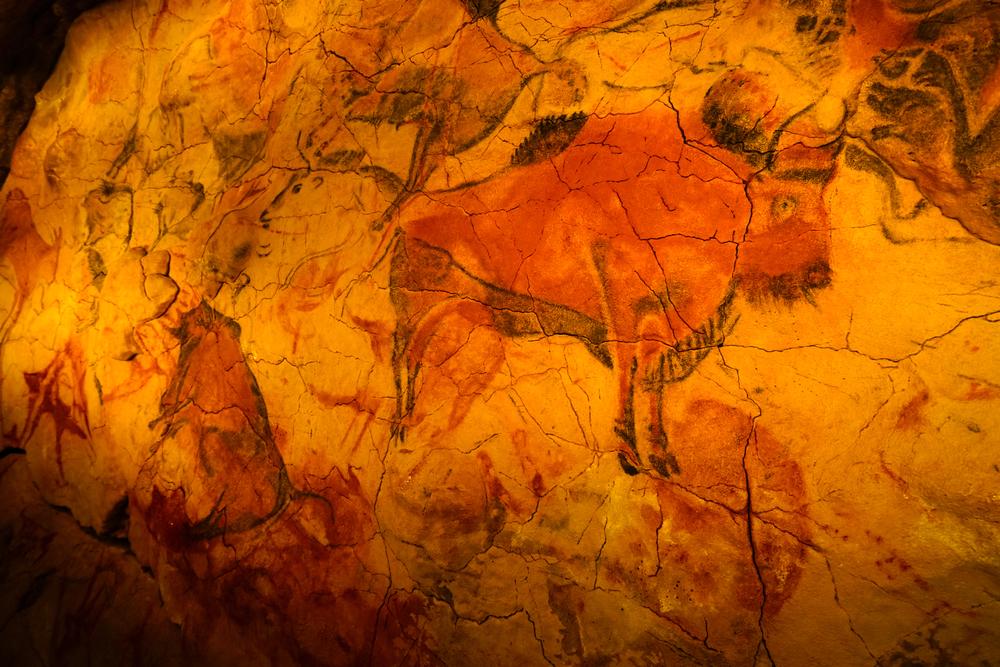 Nákresy na stenách jaskýň, ktoré majú odhadom 17 000 rokov, približujú, ako dlho boli raní ľudia v kontakte s hovädzím dobytkom. Foto: Shutterstock