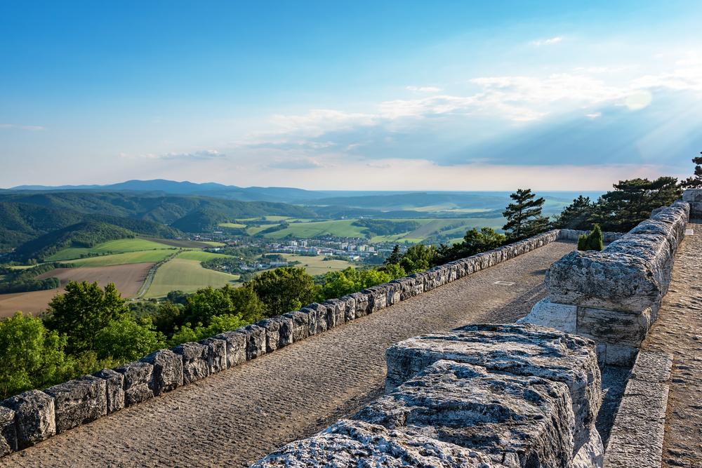 Výhľad z mohyly Milana R. Štefánika. Foto: Shutterstock