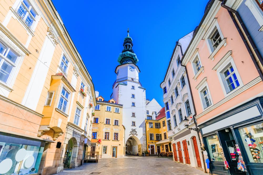 Bratislava, brána. Foto: Shutterstock