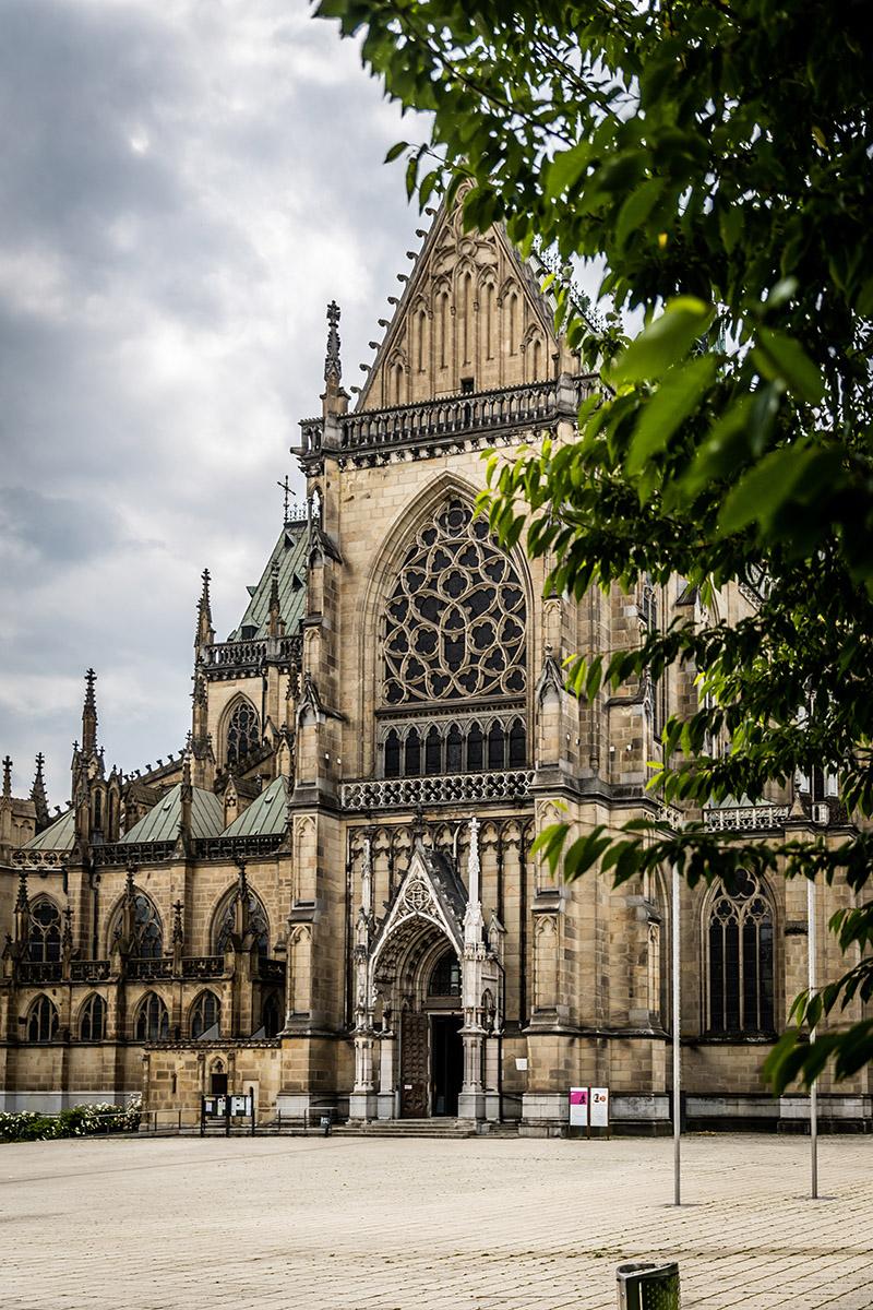 Najväčšia neogotická katedrála v Rakúsku. Foto: Miro Pochyba
