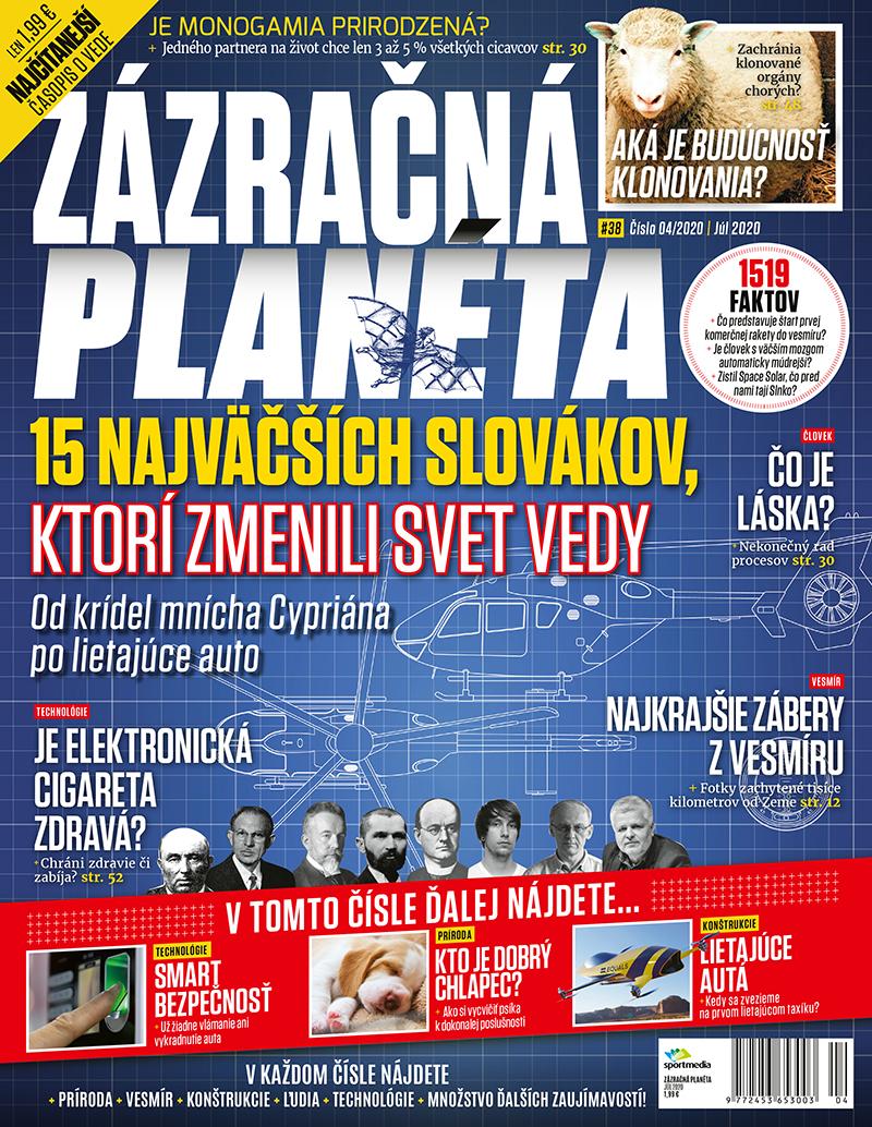 Zázračná planéta 4/2020