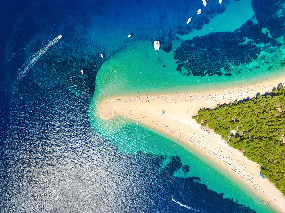 Chorvátsky ostrov Brač. Foto: Shutterstock