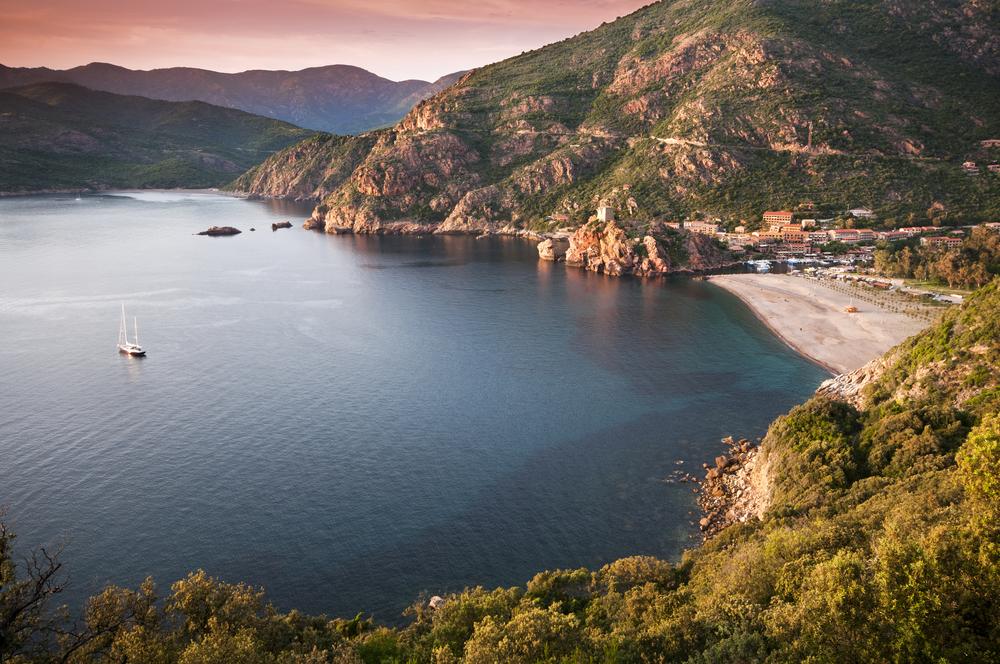 Francúzsky ostrov Korzika. Foto: Shutterstock