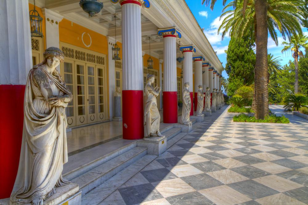 Grécky ostrov Korfu. Foto: Shutterstock