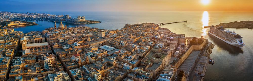 Ostrov Malta. Foto: Shutterstock