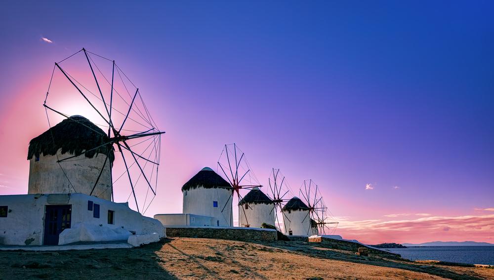 Grécky ostrov Mykonos. Foto: Shutterstock