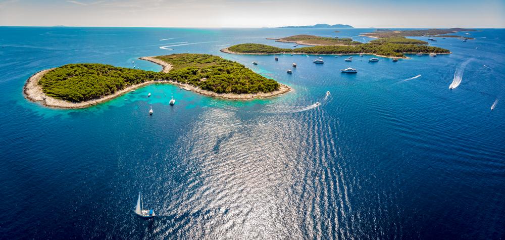 Chorvátske ostrovy Palinski. Foto: Shutterstock