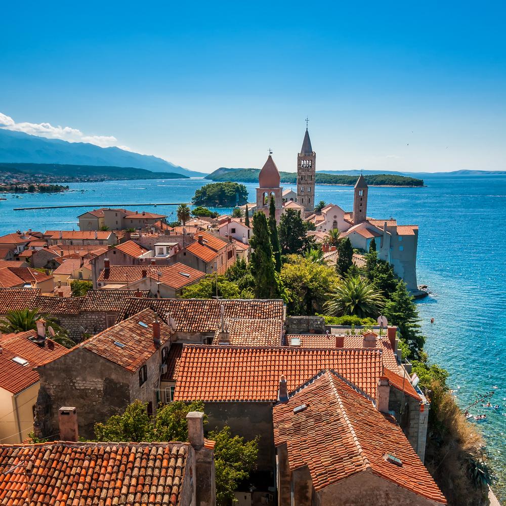 Chorvátsky ostrov Rab. Foto: Shutterstock