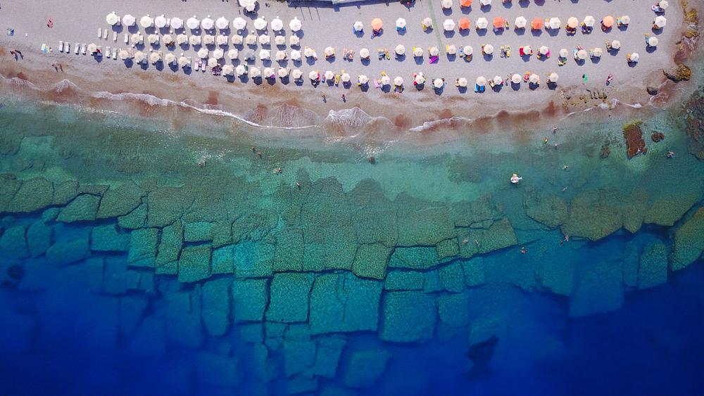 Grécky ostrov Rhodos. Foto: Shutterstock