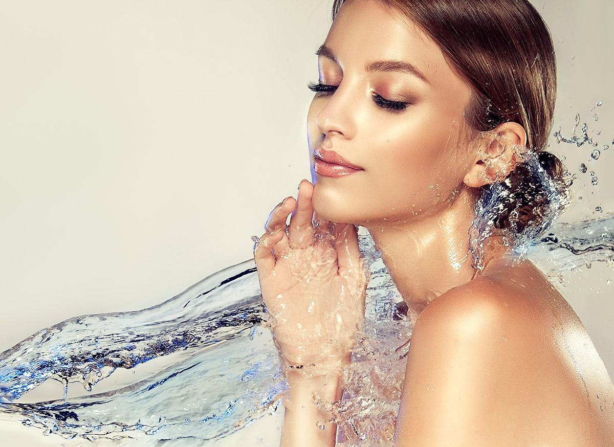 Hydratácia pleti. Foto: Shutterstock
