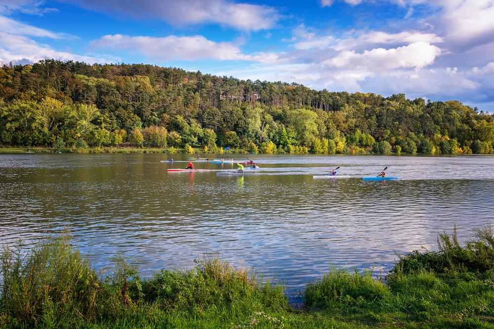 Nie úplne tradičný šport - veslovanie. Foto: Shutterstock