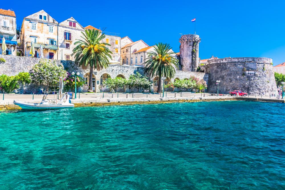 Korčula, Chorvátsko. Foto: Shutterstock