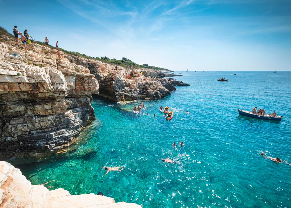 Premantura, Istria, Chorvátsko. Foto: Shutterstock