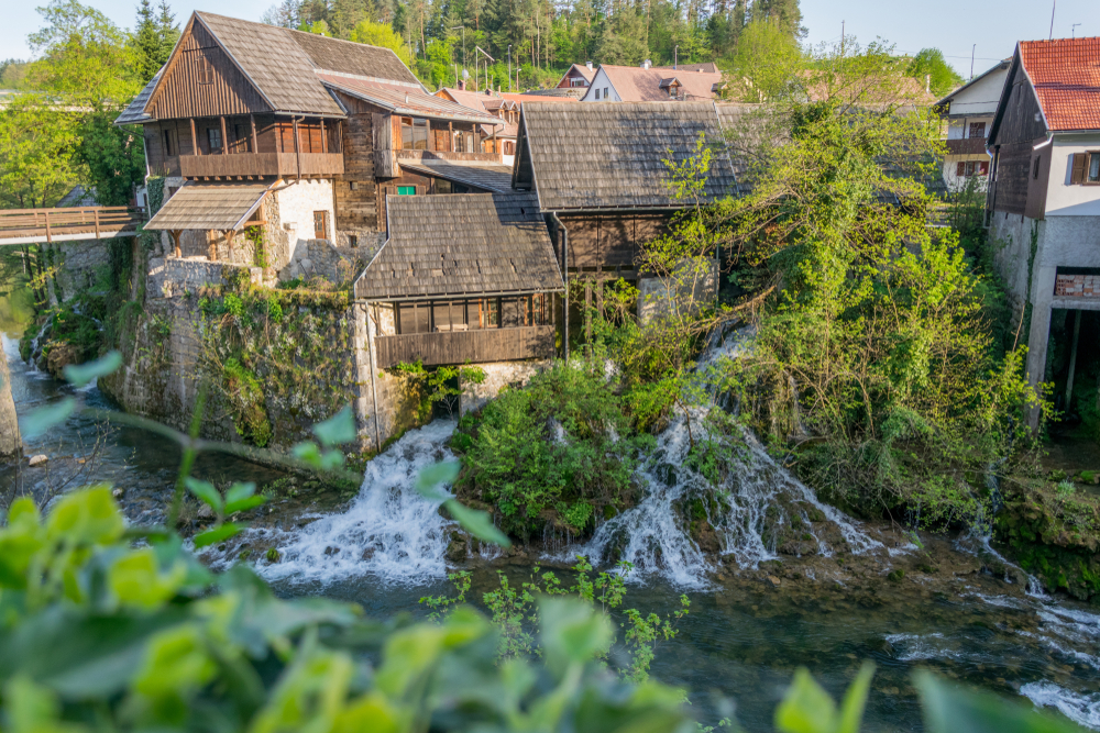 Rastoke, Chorvátsko. Foto: Shutterstock