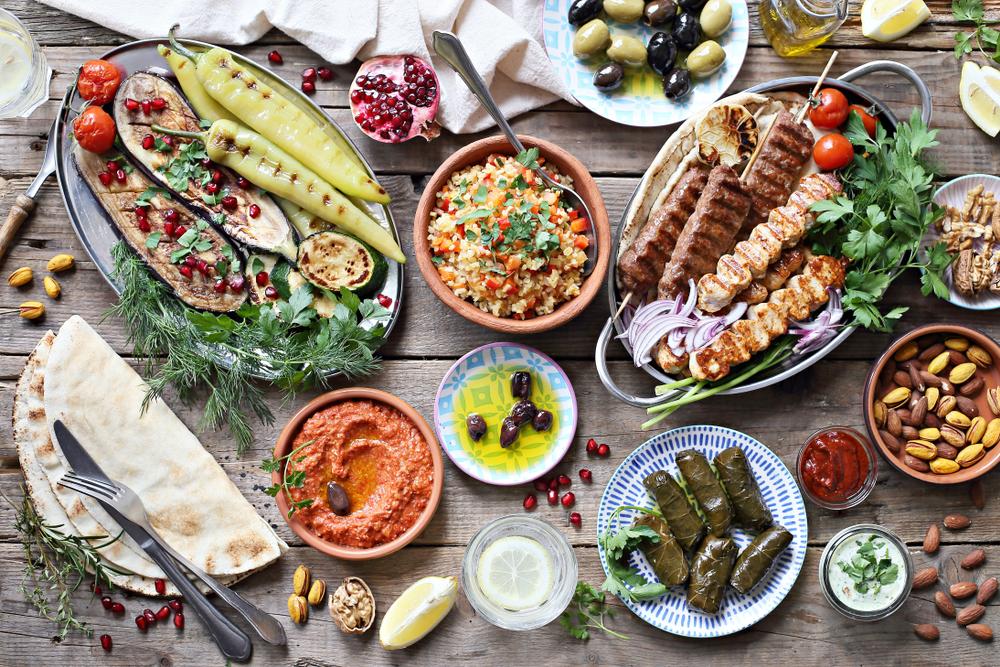 Medzinárodné jedlá. Foto: Shutterstock