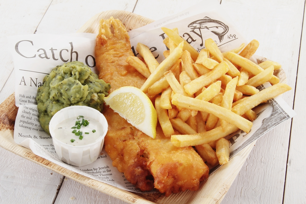 Fish and chips. Foto: Shutterstock